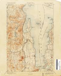 Warwick New York Map by