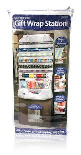 Organize Gift Wrap - davison designed product gift wrap station