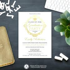 college announcements 2018 college blank graduation announcement 7x5 in college