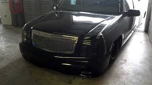 cadillac escalade front end escalade conversion 1996 gmc bagged and bodied on 24s
