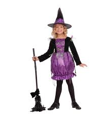 minnie mouse witch halloween fancy dress girls kids disney costume