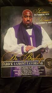 sle of funeral programs bishop darick favors funeral is happening now obnoxioustv s