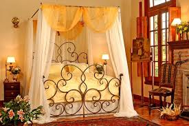 Wrought Iron Canopy Bed Fantastically Hot Wrought Iron Bedroom Furniture