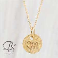 initials necklace original designers jewelry devas rakuten global market k18