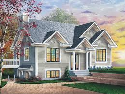 front sloping lot house plans pacific cliff sloping lot home plan 032d 0073 house plans and more