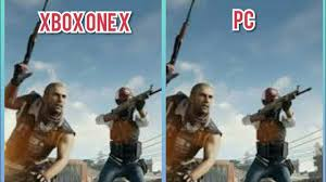 pubg xbox one x graphics pubg xbox one x vs pc enhanced graphics comparison youtube