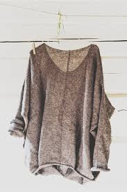 baggy sweaters from the grey or gray slouchy sweater clothes and