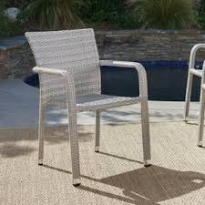Outdoor Patio Dining Chairs Patio Dining Chairs You Ll Wayfair
