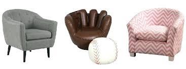 baseball chair and ottoman set kids baseball chair and ottoman baseball glove chair source a kids