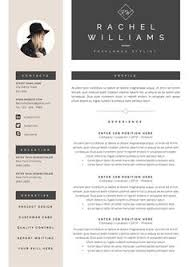 Example Cover Letter And Resume by Modern Resume Template U0026 Cover Letter Par Botanicapaperieshop