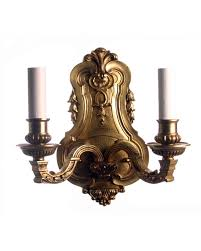 add a touch elegance in your house with antique wall lights