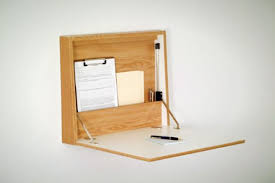 Fold Out Desk Diy Great Folding Table Attached To Wall Space Saver 22 Wall Mounted
