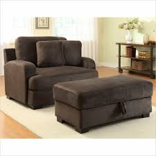 Oversized Loveseat With Ottoman Looks Living Room With Homelegance Oversized Chair Ottoman