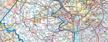 Map Of Washington Dc Monuments by Maps Fairfax Virginia Vacations Fairfax County Va