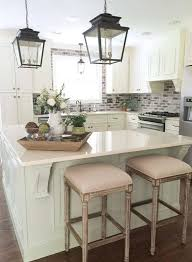 Stools For Kitchen Island 25 Best Small Kitchen Islands Ideas On Pinterest Small Kitchen