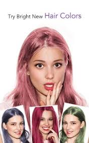 see yourself in different hair color youcam makeup magic selfie makeovers android apps on google play