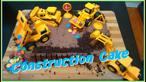 construction birthday cake easy construction site birthday cake diy wesley s 5th birthday