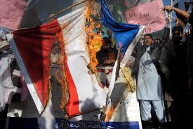 Burning A Flag Muslims Torch French Flags And Netanyahu Photos Around The World