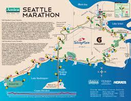 Boston Marathon Course Map by Best Marathons In Washington U2013 Runner U0027s Choose Washington U0027s Top
