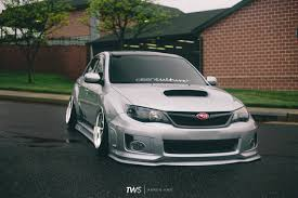 subaru wrx hatchback stance stanced subaru wrx tuner evolution thirdworld the fittest