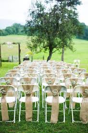 Cheap Outdoor Wedding Decoration Ideas Best 25 Wedding Chair Covers Ideas On Pinterest Wedding Chair