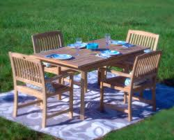 Teak Patio Dining Sets - pebble lane living