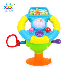 baby toys with lights and sound huile toys 916 baby toys driving steering wheel equipped with