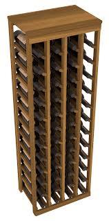 48 bottle table top wine rack living series wine rack
