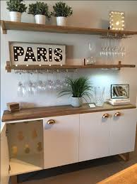 Wooden Shelf Design Ideas by Best 25 Dining Room Floating Shelves Ideas On Pinterest Wood