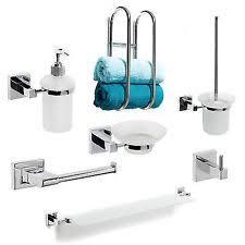 cool design bathroom accessories sets chrome on bathroom set