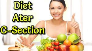 foods you can eat after c section diet plan for cesarean mother