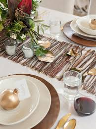 how to decorate a thanksgiving dinner table 20 thanksgiving table setting ideas and recipes hgtv