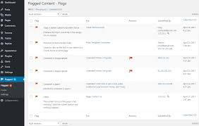 Flag In Computer Flagged Content Pro Let Visitors Report And Flag Posts Comments