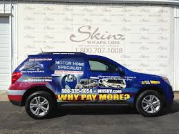 chevy motorhome chevy equinox vehicle wrap for motor home specialist skinzwraps