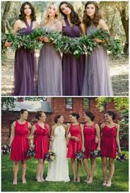 on trend mismatched bridesmaids dresses terry costa