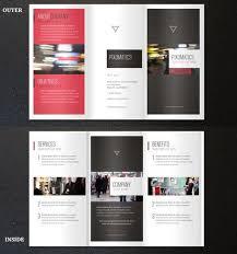 3 fold brochure template free tri fold brochure vector template