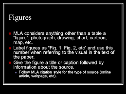how to cite a table in mla citing surveys interviews graphs ppt video online download