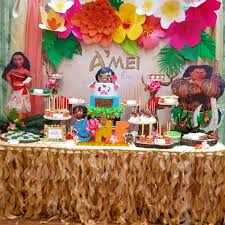 moana hawaiian luau birthday party ideas apryl jones birthdays