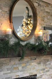diy stone fireplace interior design