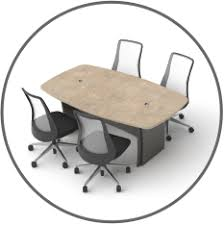 Circle Meeting Table Omnirax Furniture Company Online Catalog Conference Tablesomnirax