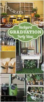 high school graduation party decorating ideas 25 best outdoor graduation ideas on grad