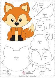 best 25 fox pattern ideas on felt fox felt patterns