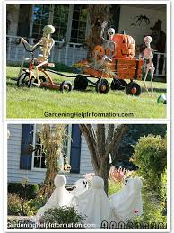 How To Decorate Your House For Halloween Outside Halloween Decorating For Outside Peeinn Com