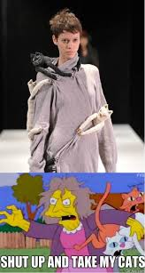 Fashion Meme - cat lady fashion meme by jokeitup com
