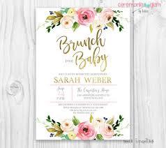 baby brunch invitations invitation baby shower girl we like design