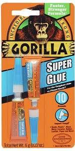 gorilla super glue 15 g wood glues amazon com