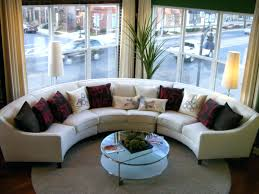 Curved Sofas For Small Spaces Curved Sectional Sofas For Small Spaces Sofa With Recliner Modern