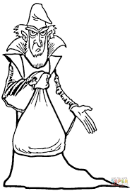 wizard coloring page free printable coloring pages