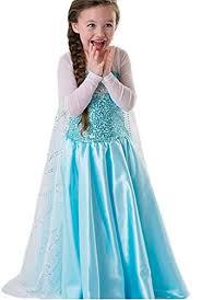 Elsa Halloween Costumes Kids Princess Anna U0026 Elsa Halloween Costumes