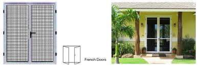 Secure French Doors - a range of security doors and window grilles